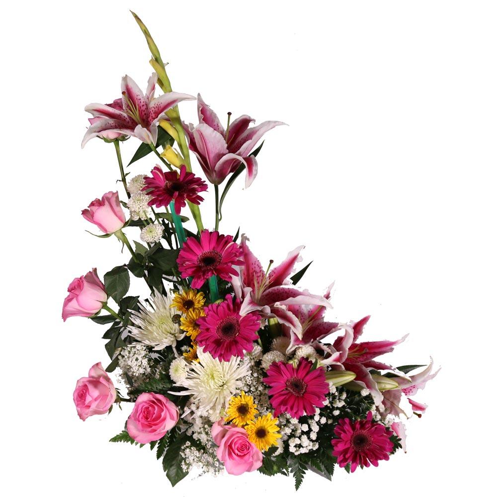 Flower Arrangements El Paso: Basket Floral Arrangement 11